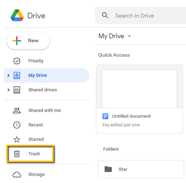 Google Drive account connected to Pics.io